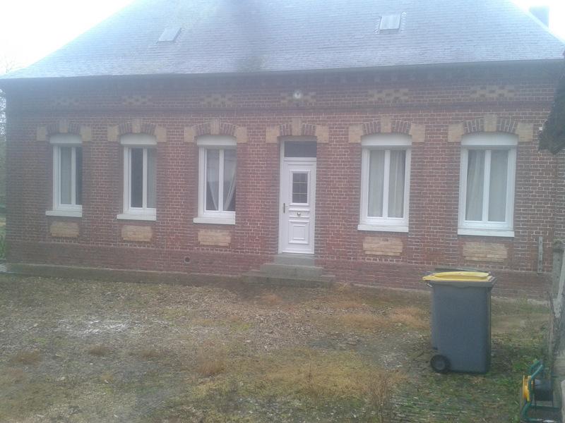 Aprés - pose de fenêtre et porte d'entrée PVC
